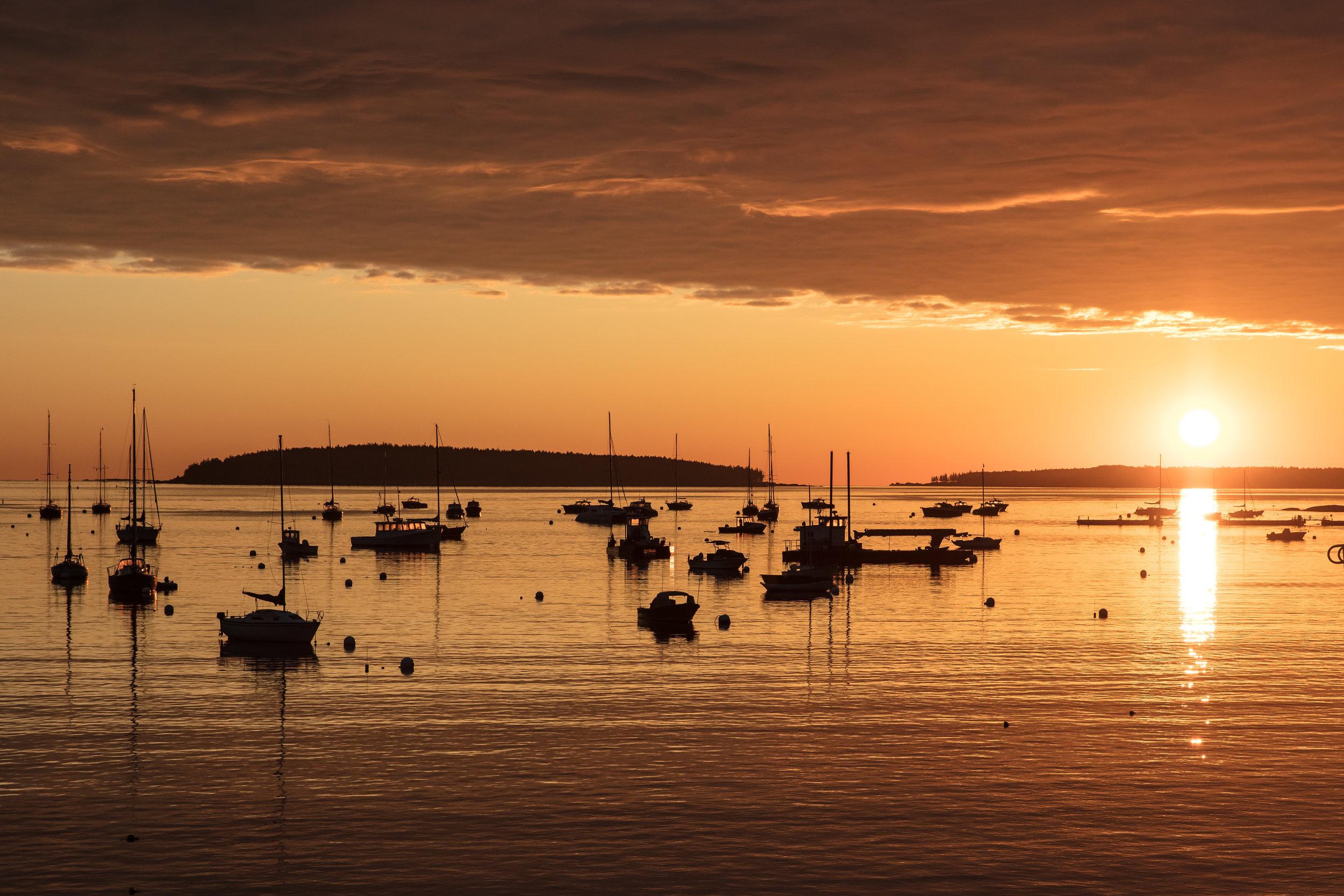 Southwest Harbor Sunrise II