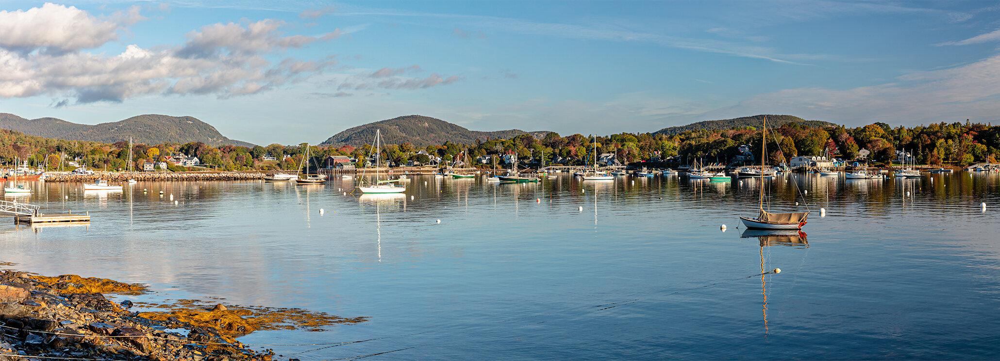 Southwest Harbor Panorama