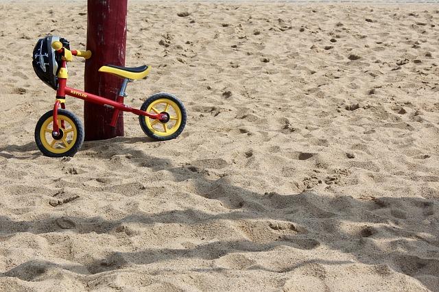 geluk is als een fiets