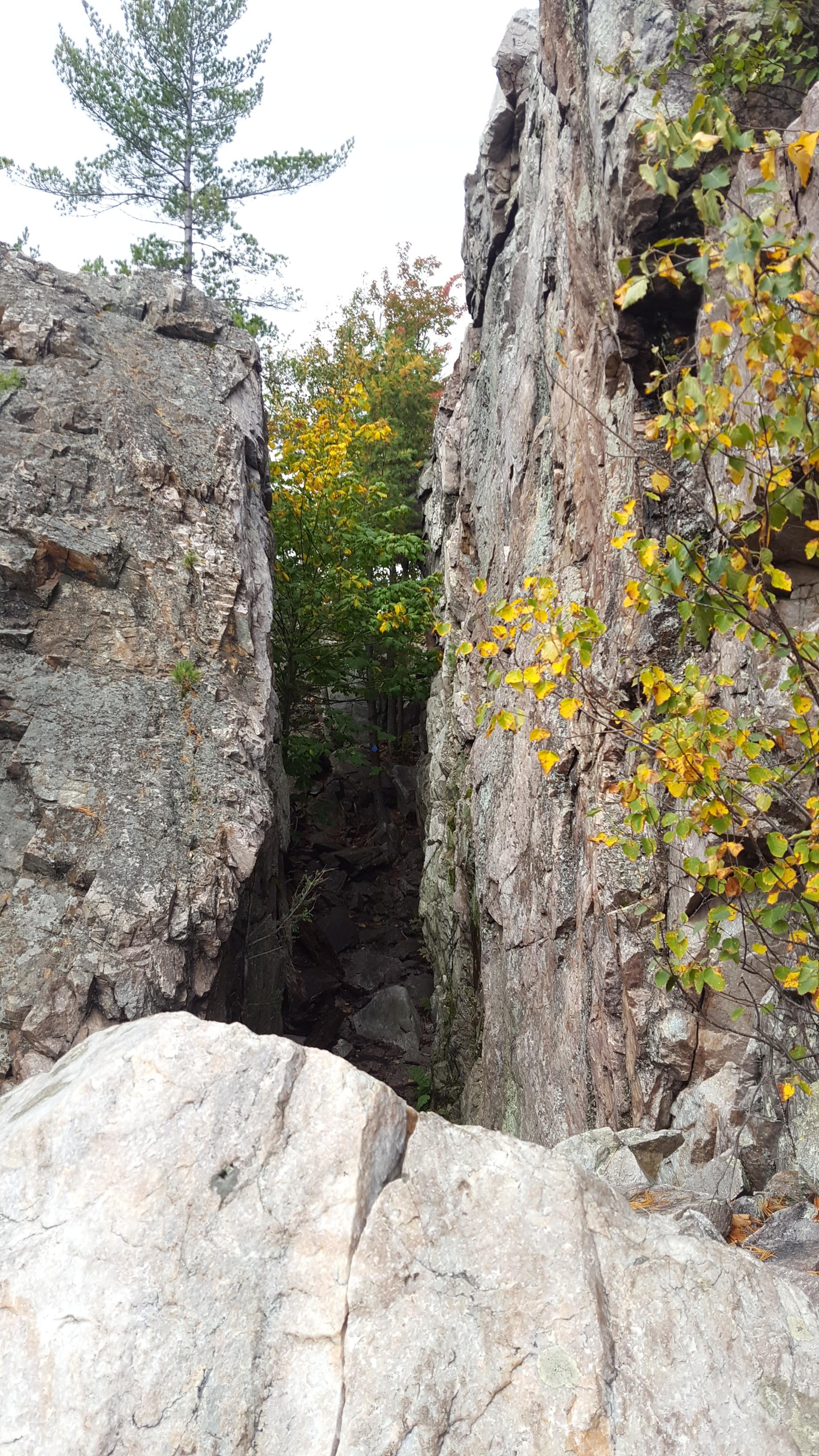 TC - the crevasse
