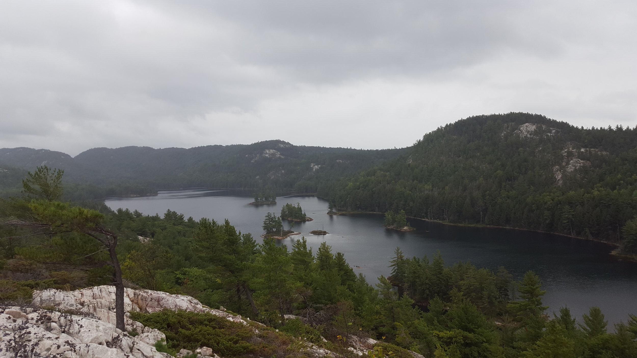 View of Grace Lake