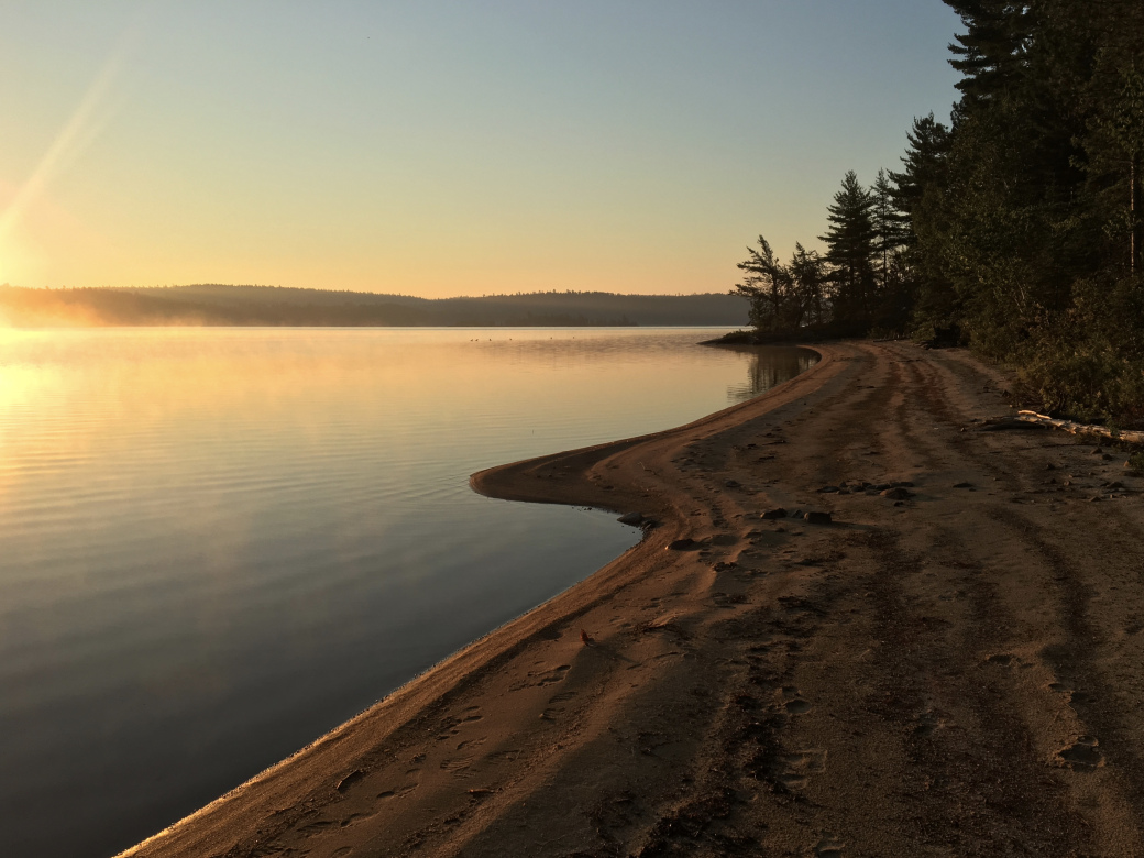 Obabika Lake - Sunrise