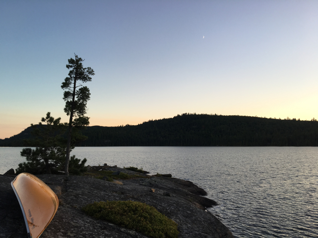 Crescent Moon, Crescent Canoe