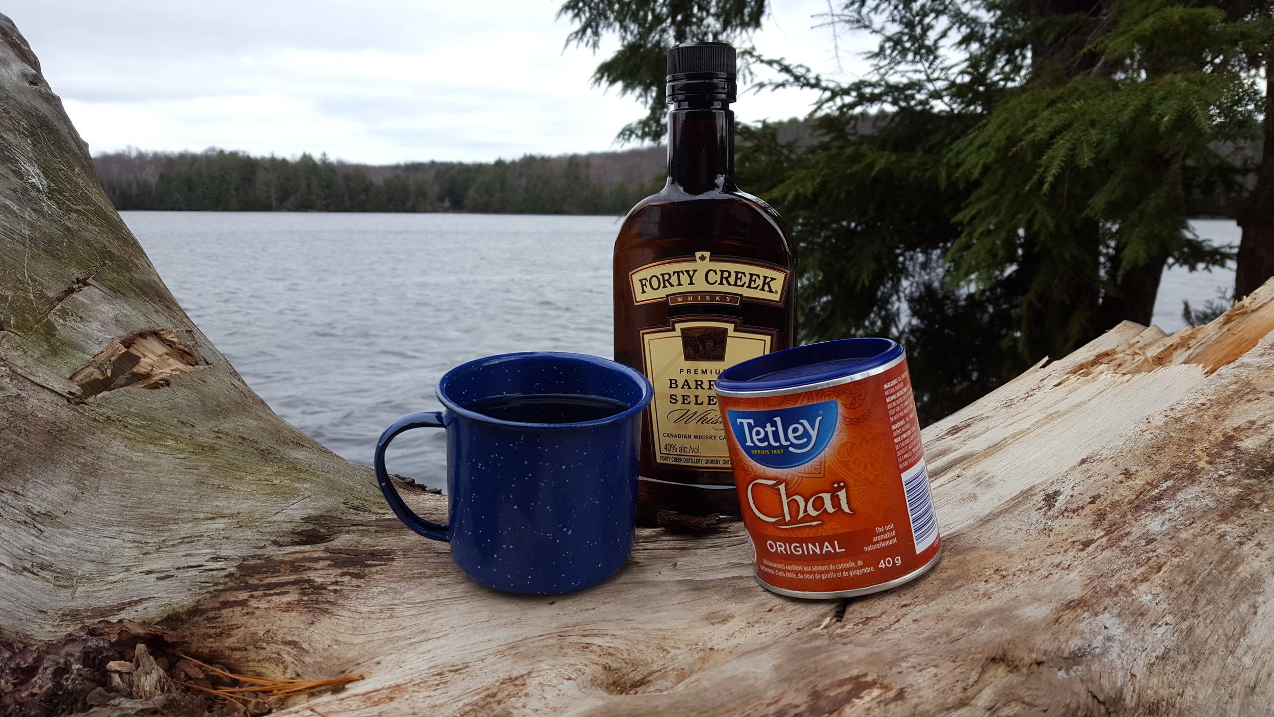 Whisky Chai Tea