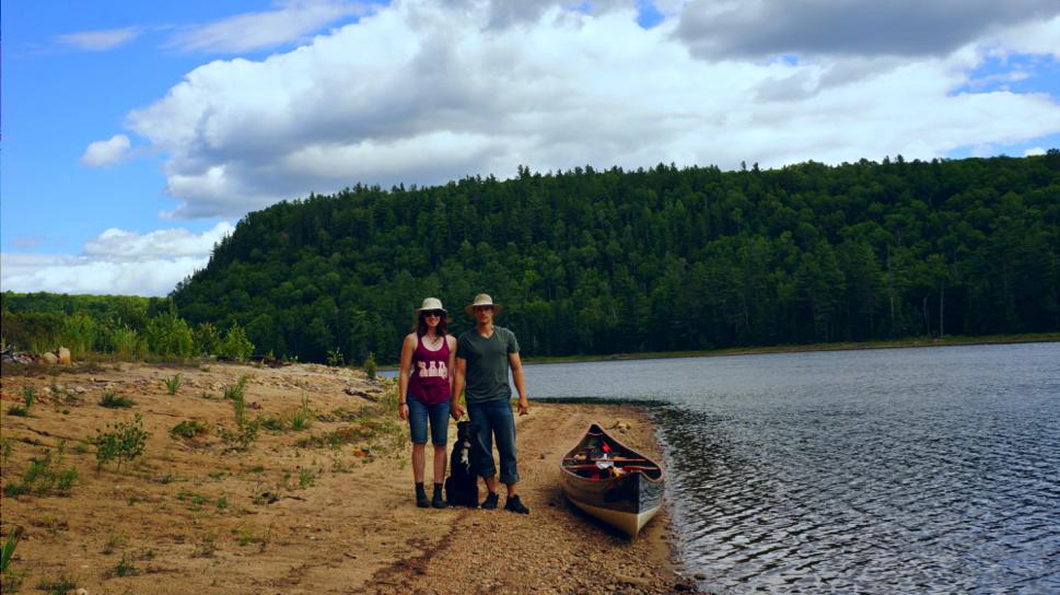 Ryan, Nico, and I at Scorch Lake