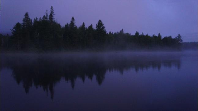 Sunrise on Byers L Campsite