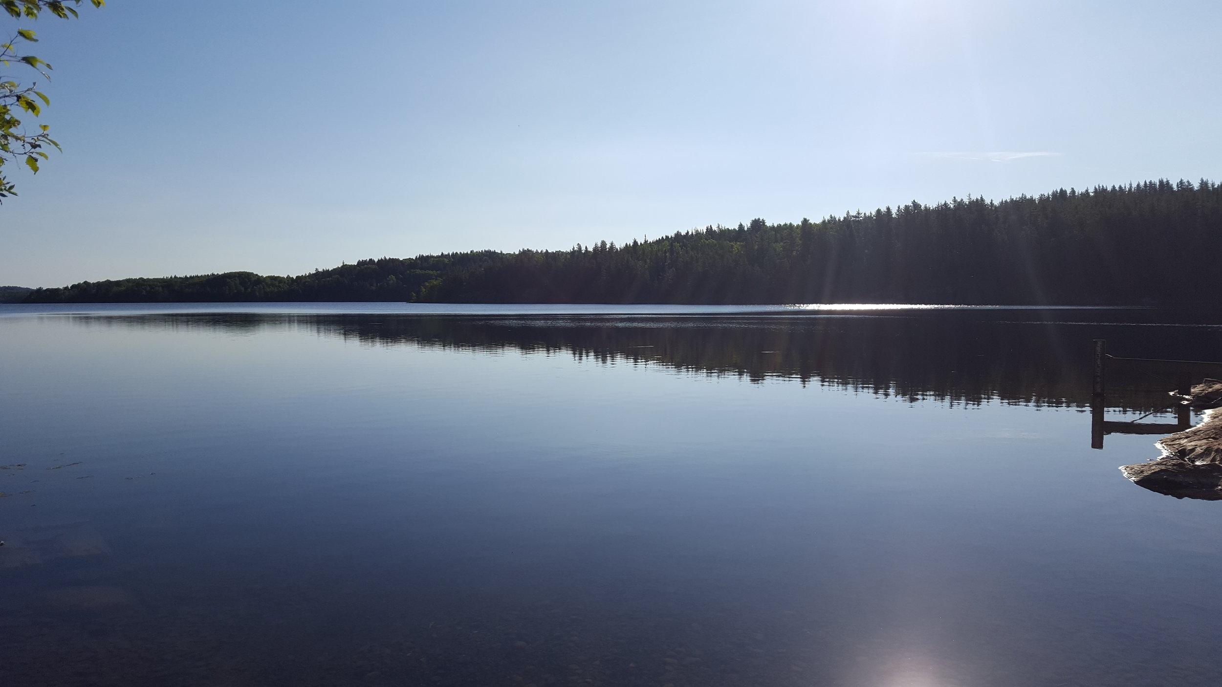 Metagamasi Lake - Launch