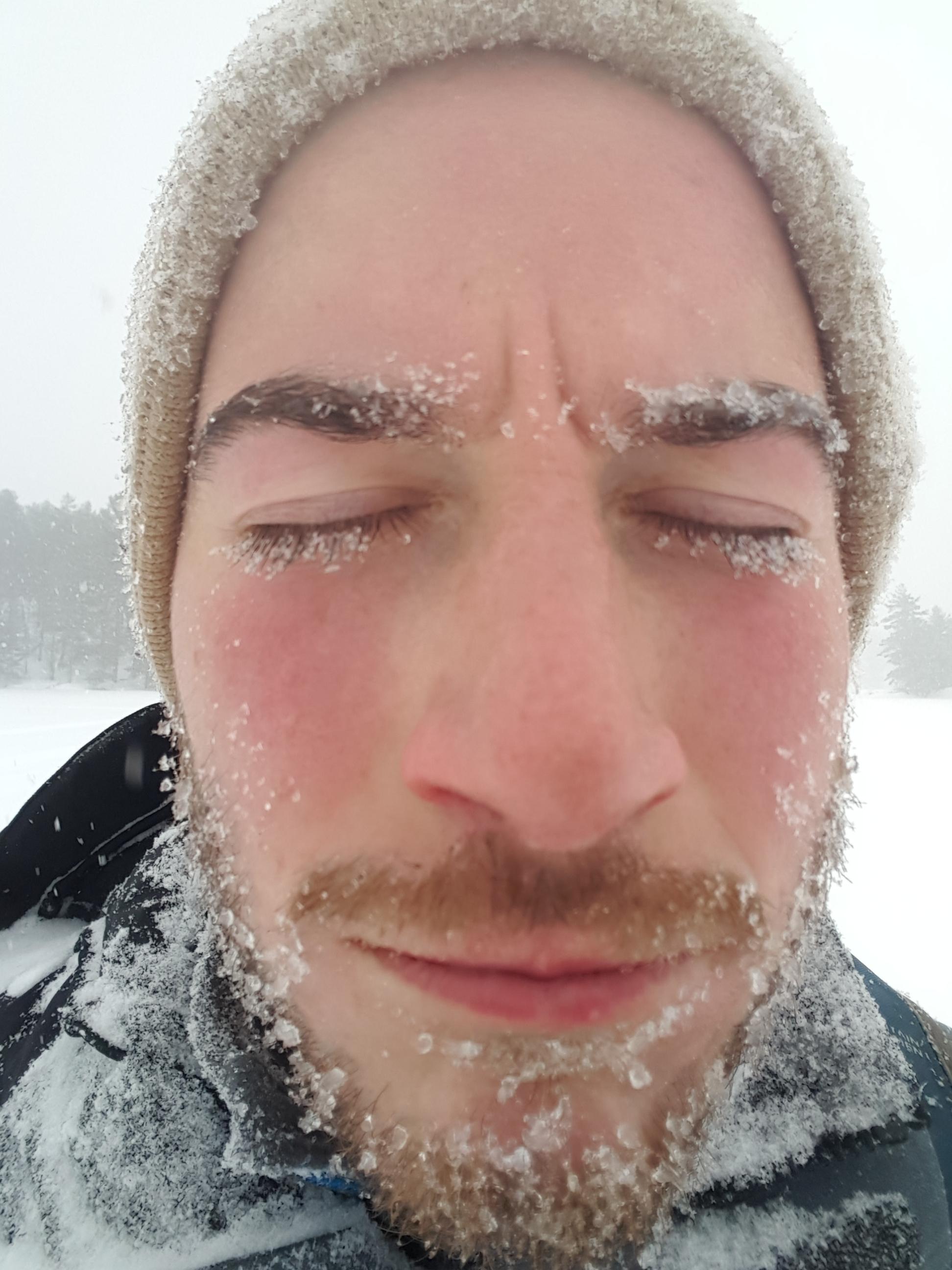 Frozen faces