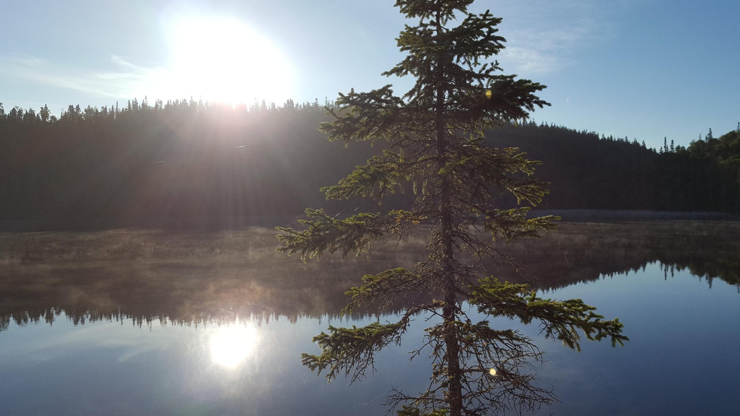 Perfect morning on Diablo Lake