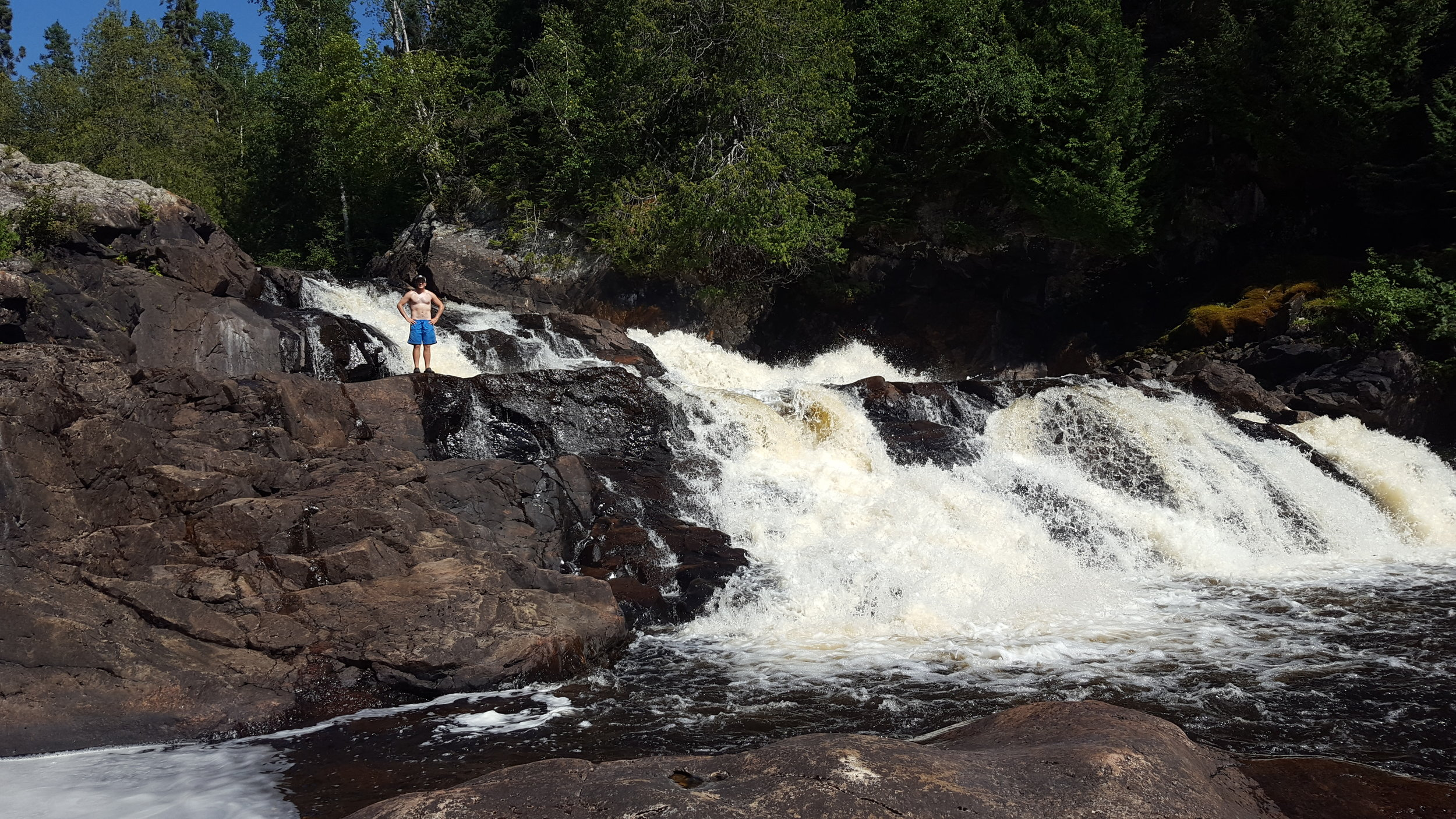 Rainbow Falls - Steel River