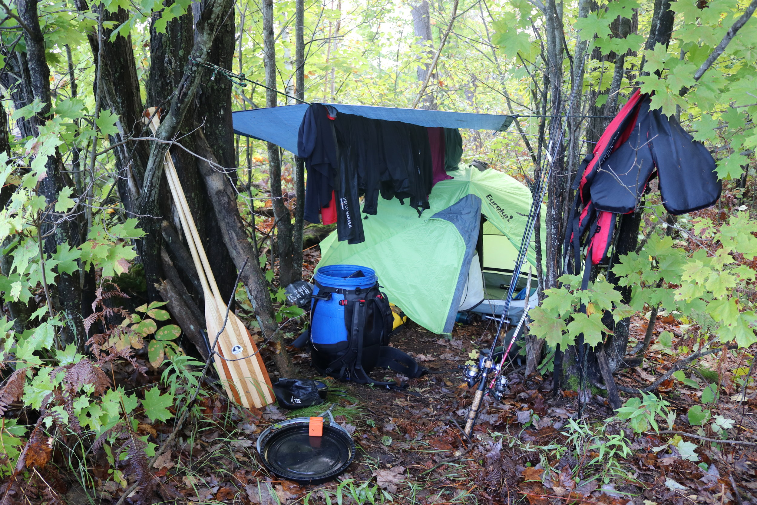 Picture 4 - Otter Lake Survival Set-up.JPG