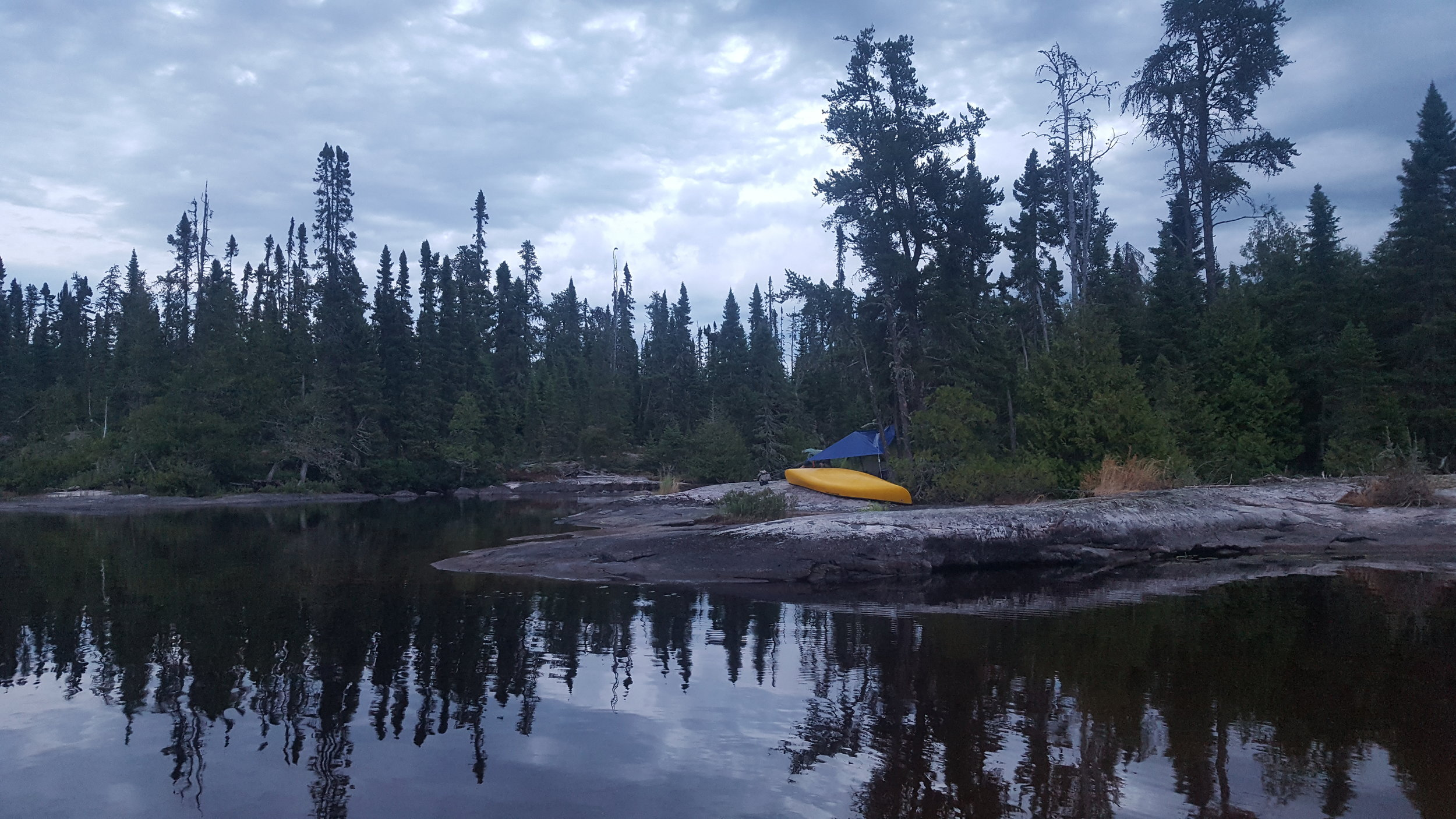 Camp 3 on Lower Wabakimi Lake