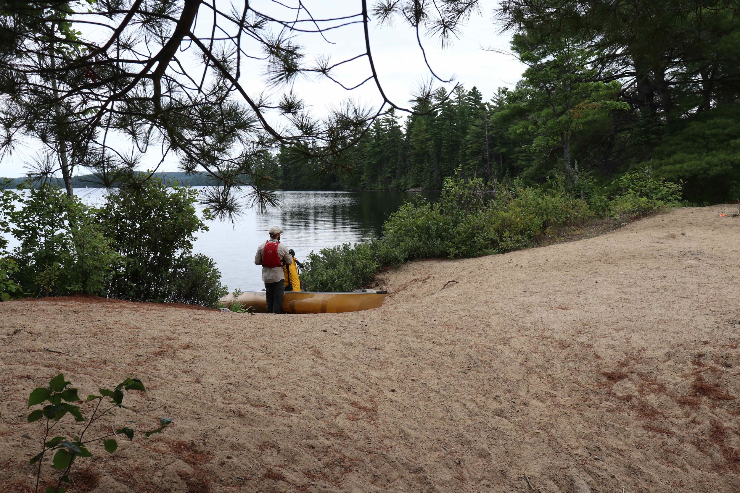 Portage coming out of Source Lake