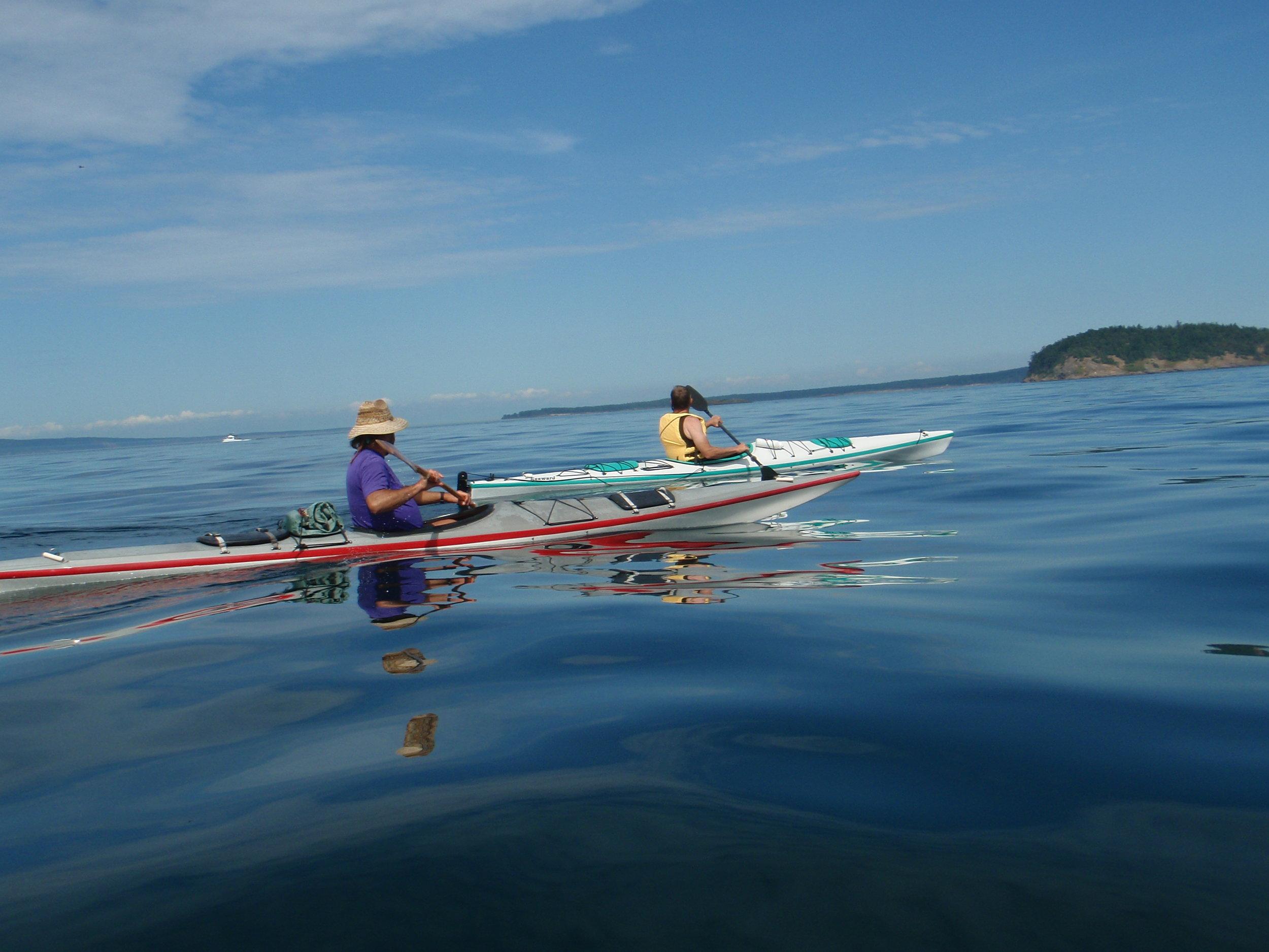 Top Ten Kayak Paddles From Orcas Island