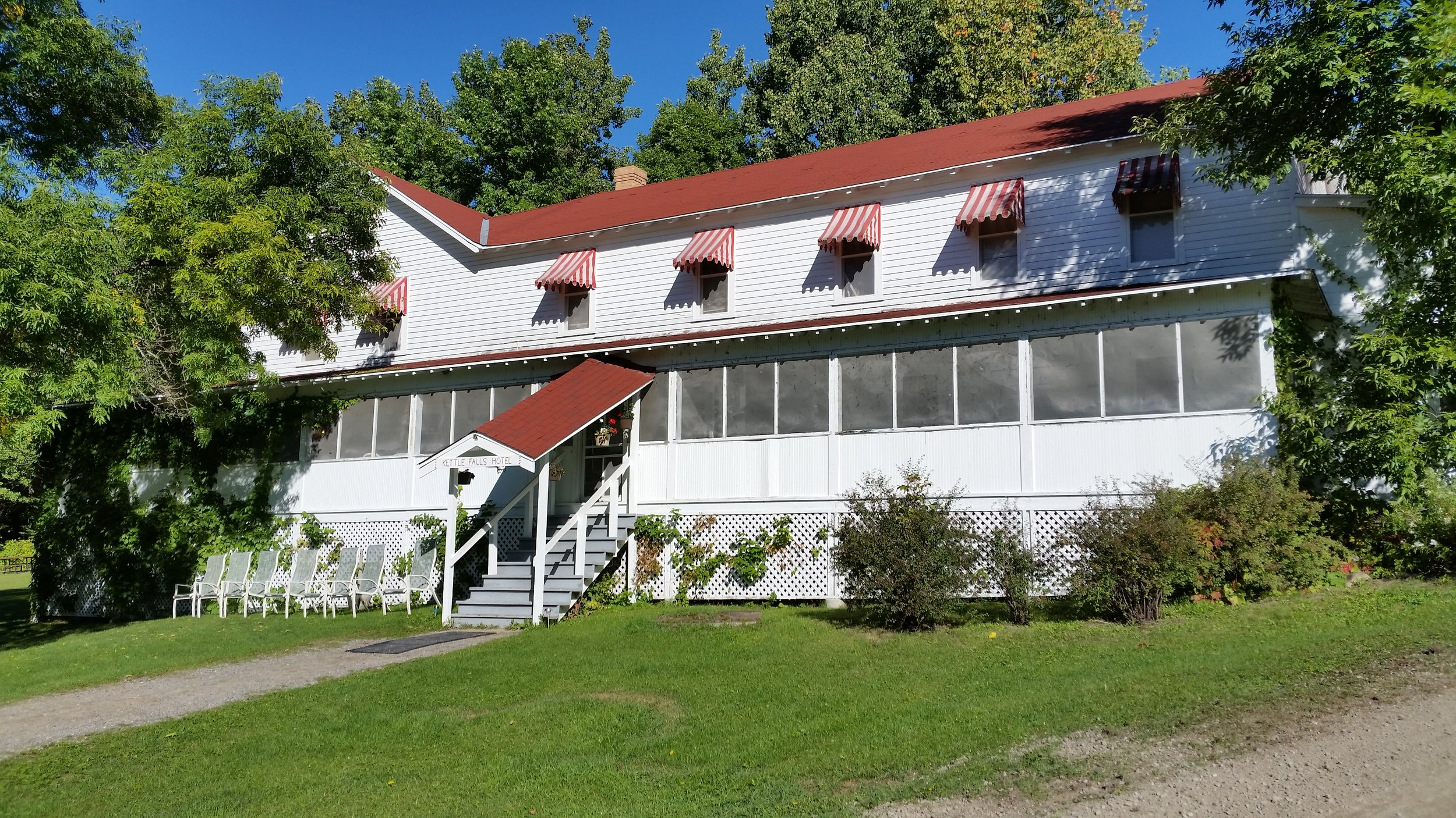 Kettle Falls Inn , Voyaguers National Park