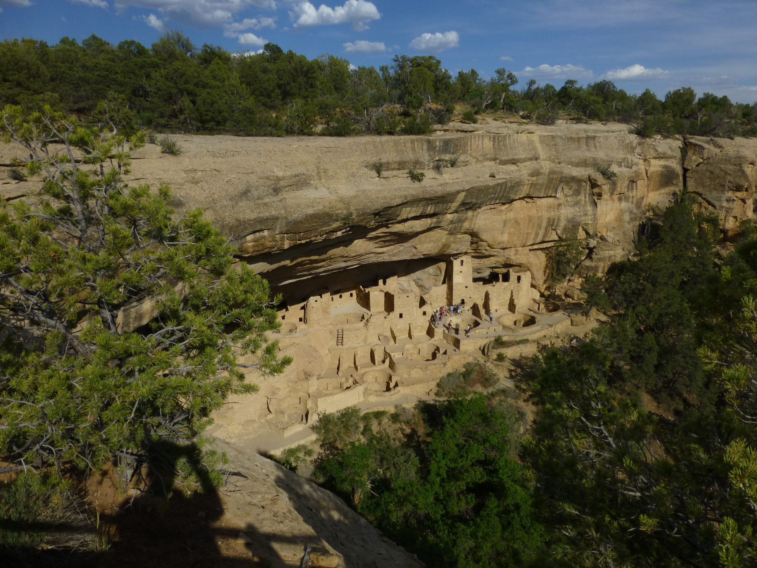 Cliff Palace, Mesa Verde National Park (cover photo as well)