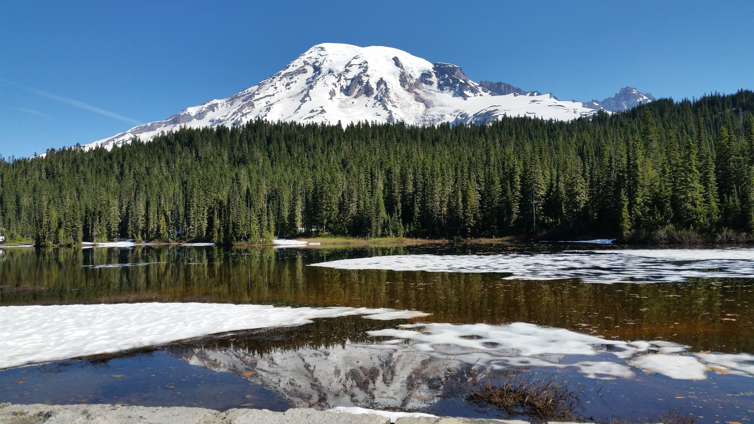 Mt Rainer National Park, Reflection Lake