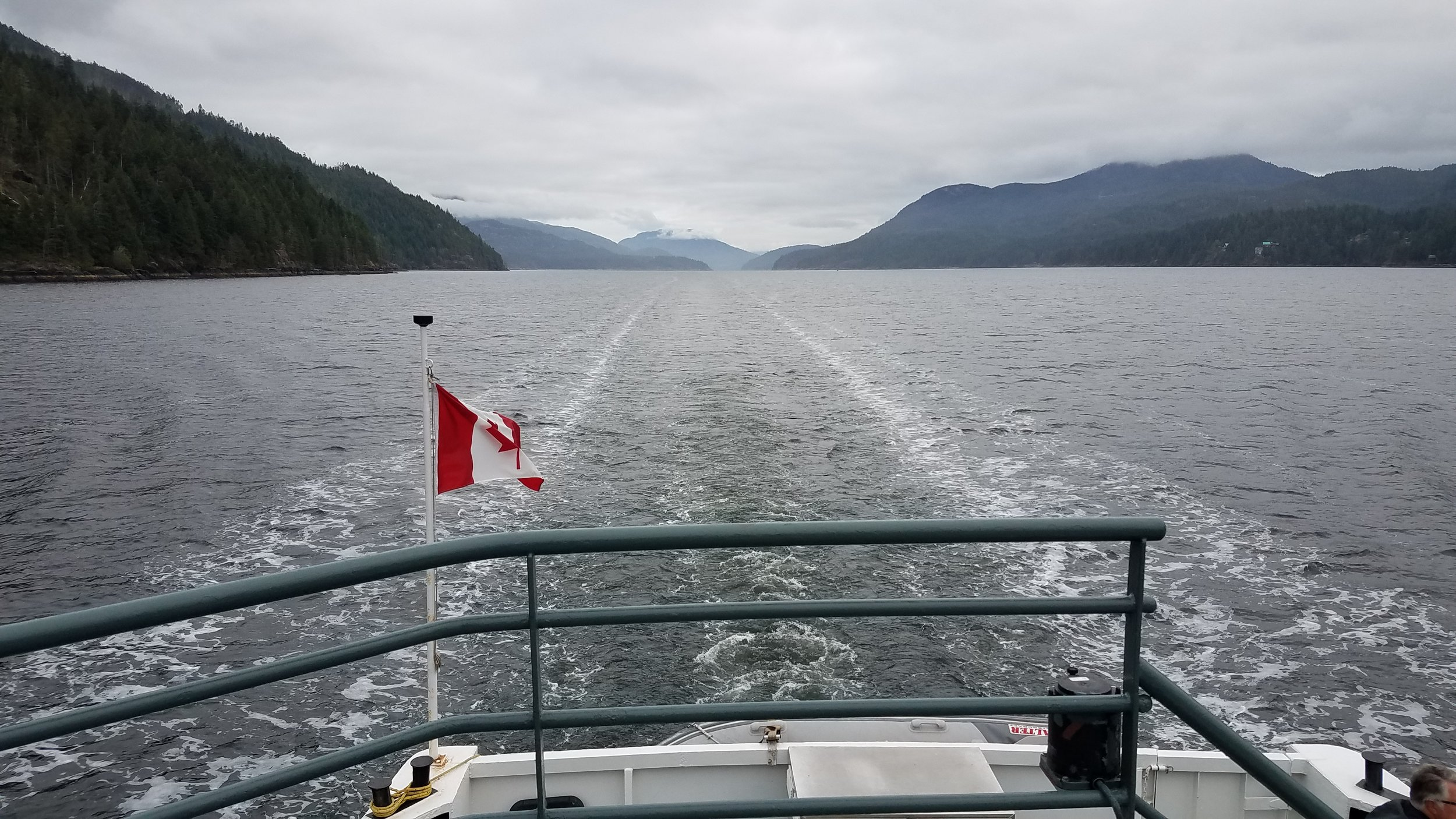 Alberni Inlet from the M. V. Frances Barkley