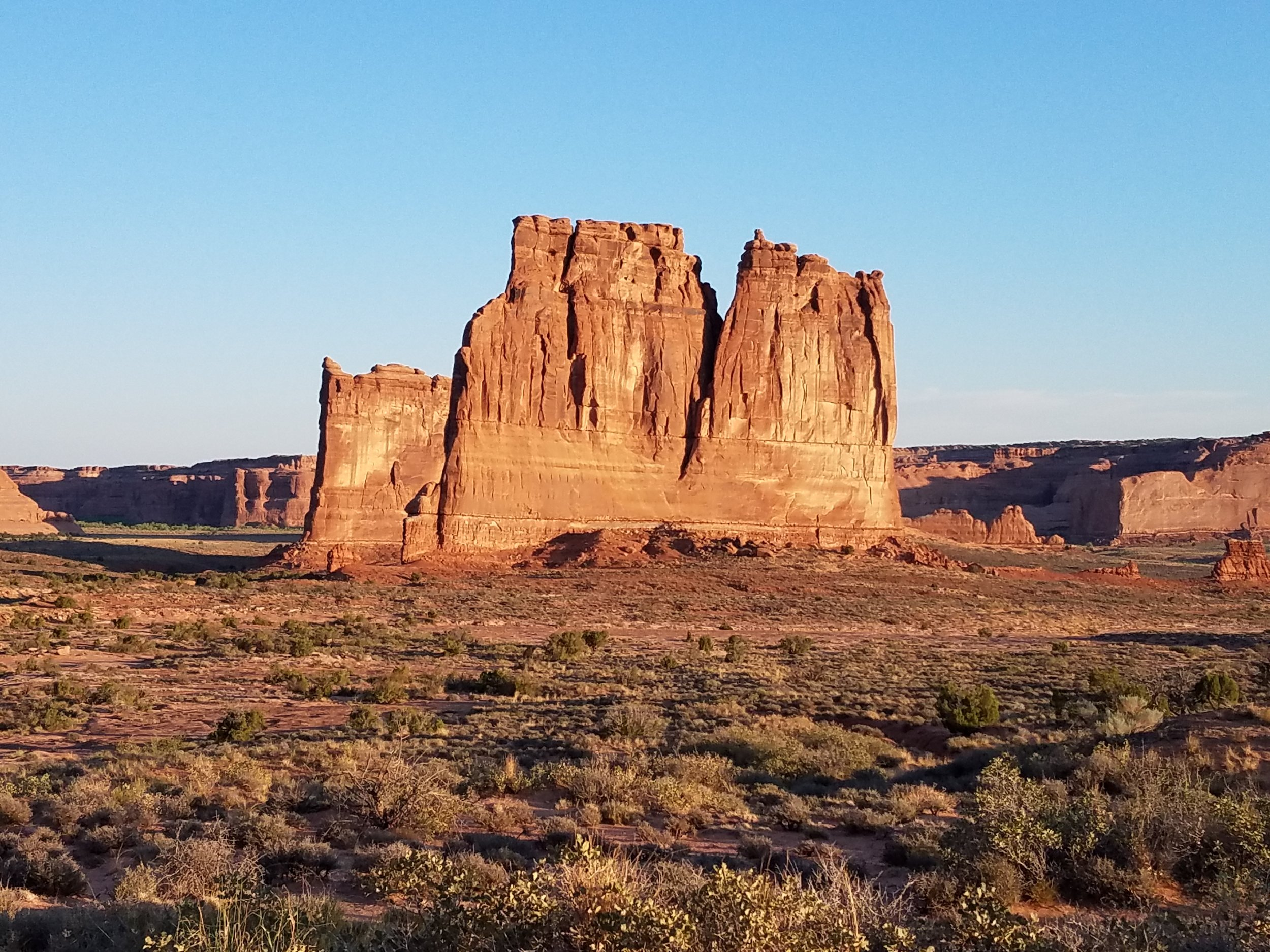 Courthouse Towers, Arches National Park, UT
