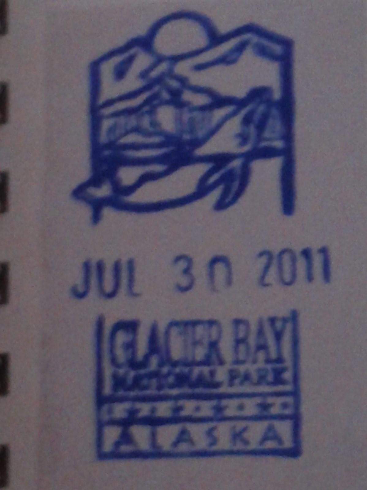 National Park stamp!