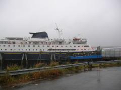 Alaska Ferry, Columbia - the largest