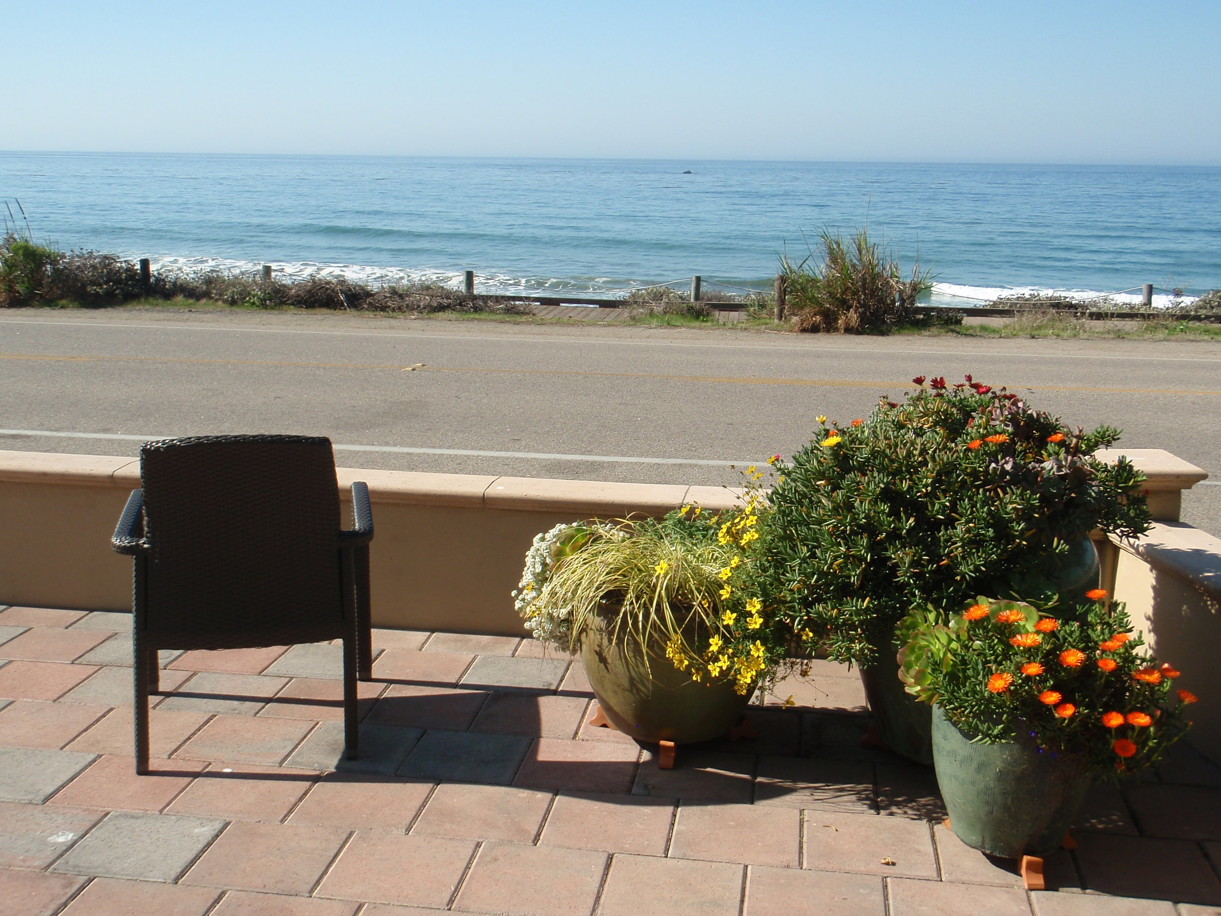 Ocean view from the Blue Dolphin Inn, Cambria, CA