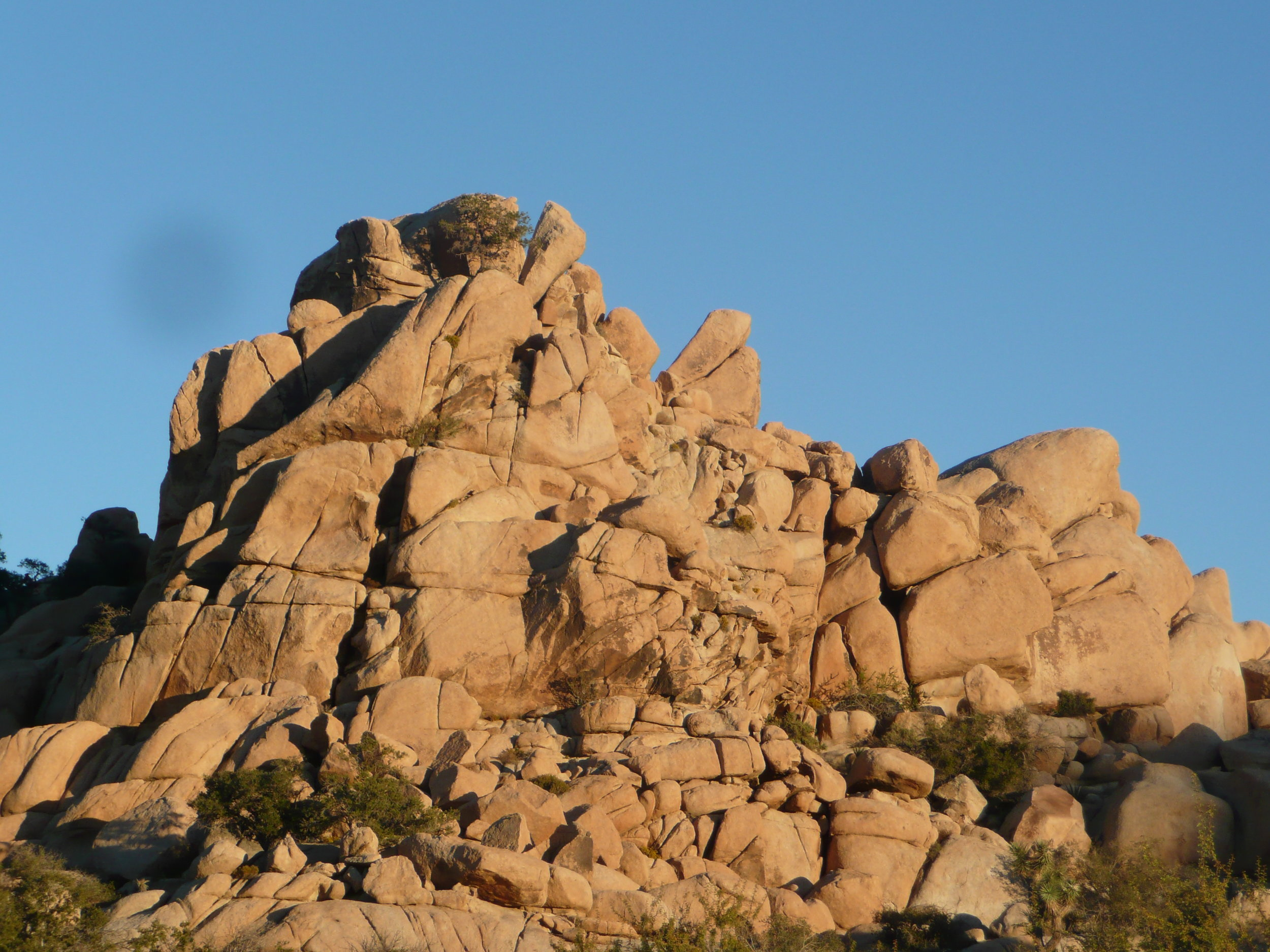 Boulder stacks, west side of Joshua Tree National Park