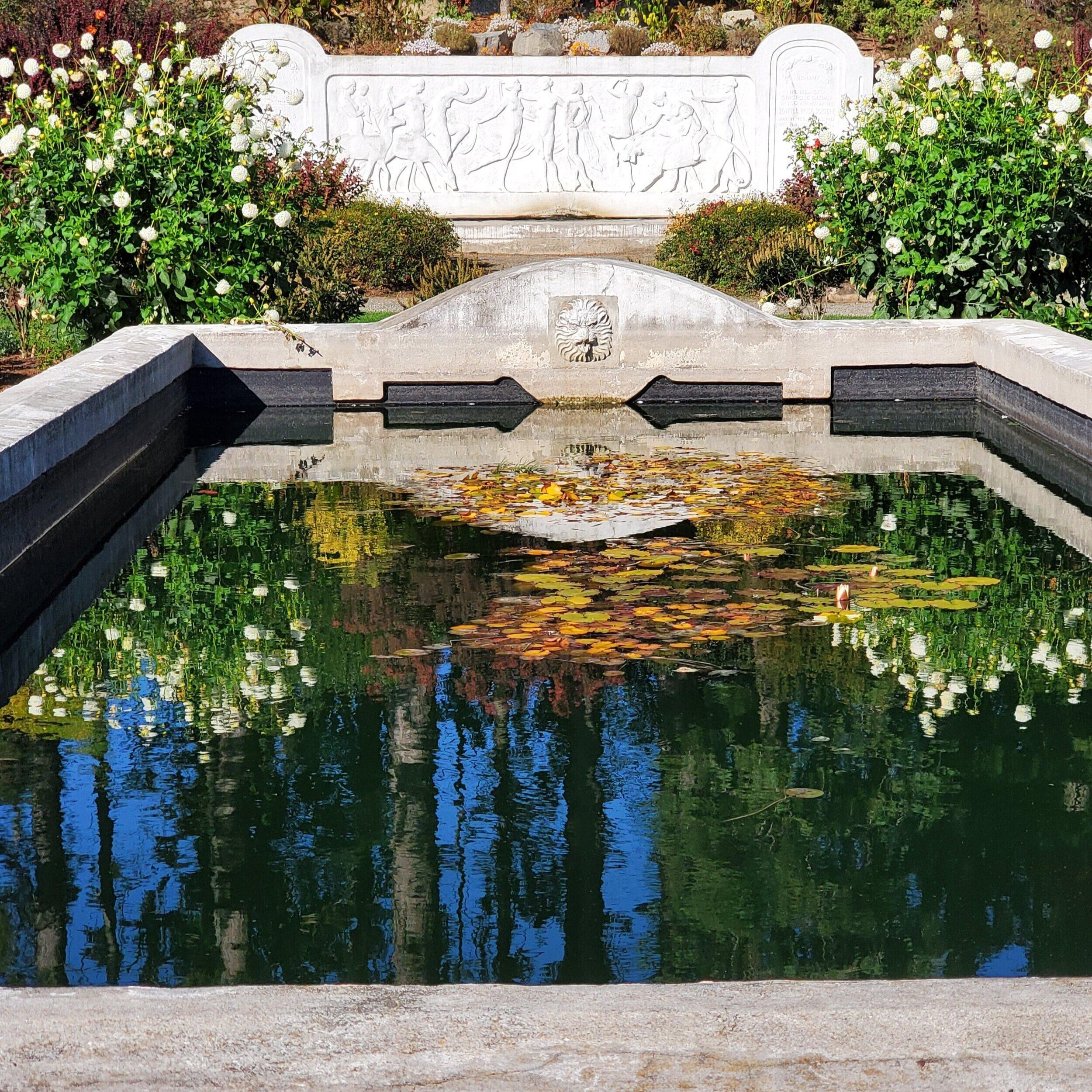 Rose Garden, Woodland Park