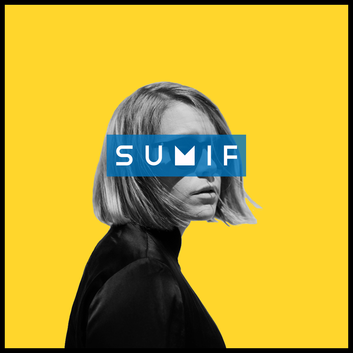 Electronic Pop Artist SUMIF, Album Cover, 2017.