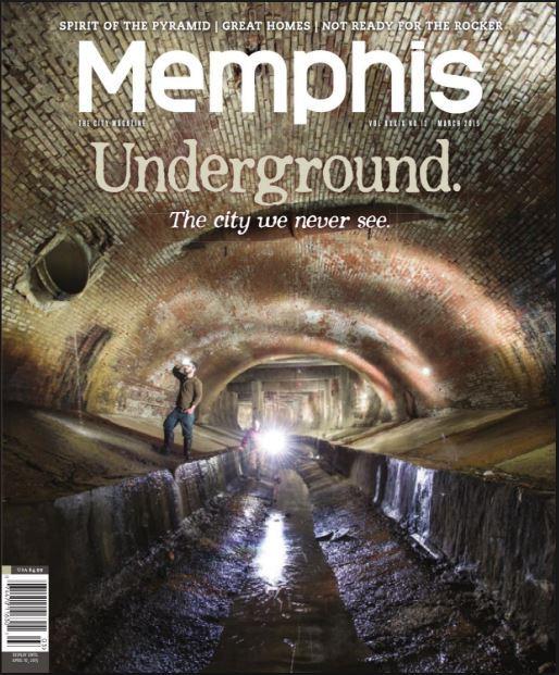 """Memphis Underground: The City We Never See"" -Memphis Magazine"