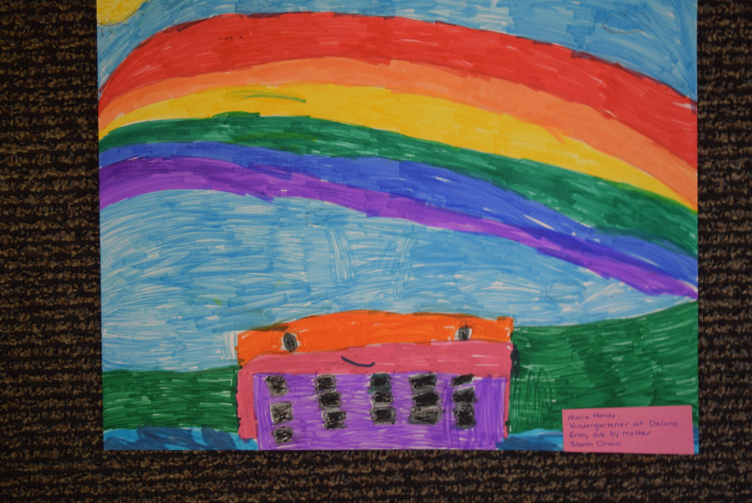 Malia Hardy- Delano, Kindergarten