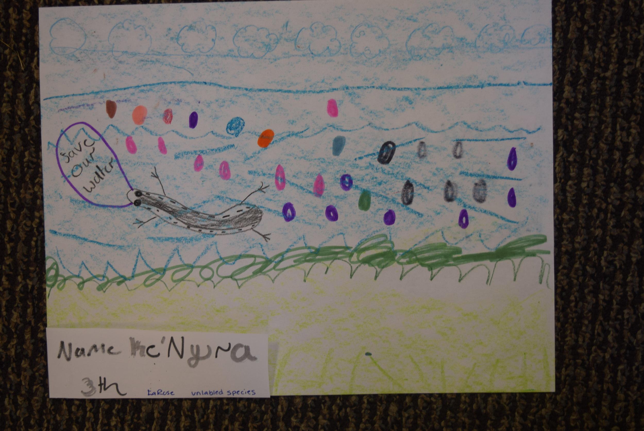Ke'Nyra- LaRose 3rd grade
