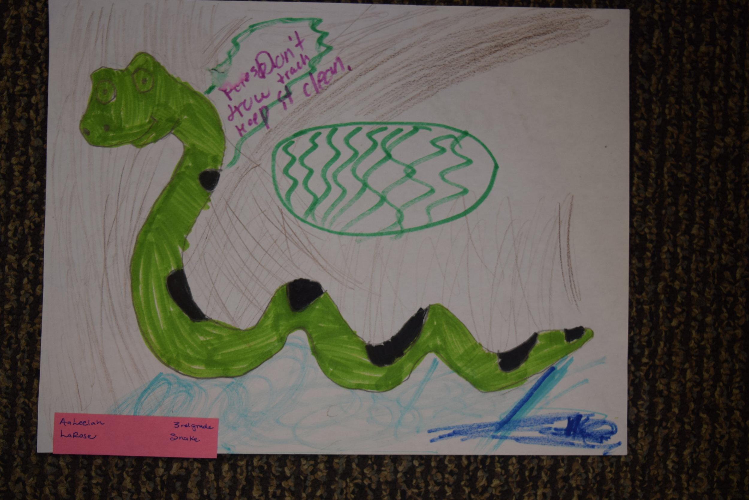 AaLeelah- LaRose, 3rd grade