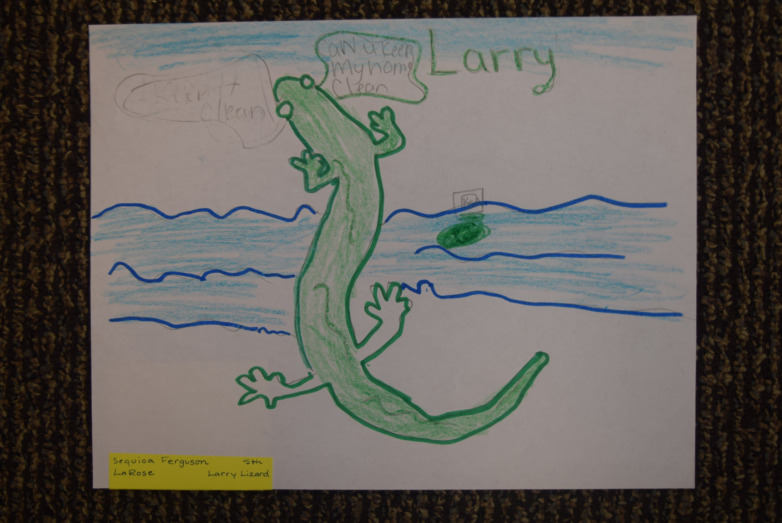 Sequioa Ferguson- LaRose, 5th grade