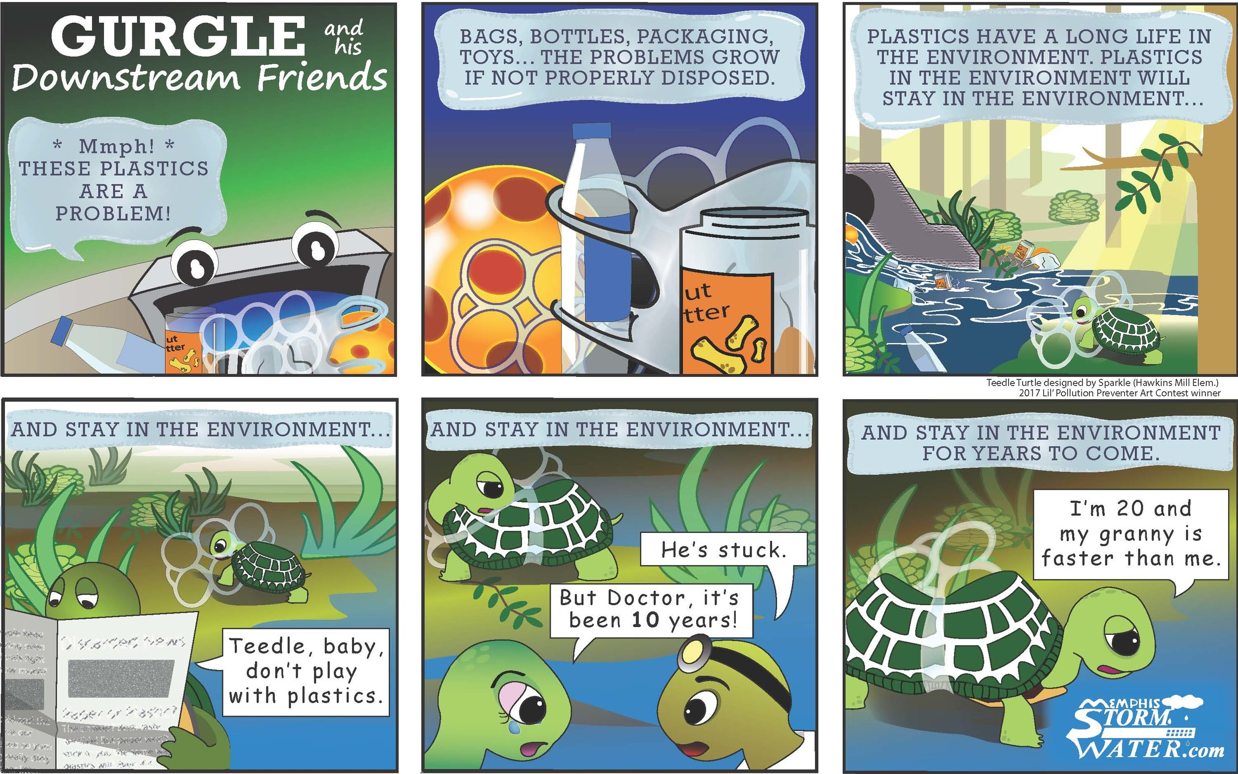 Plastics: Part 1 with Teedle Turtle