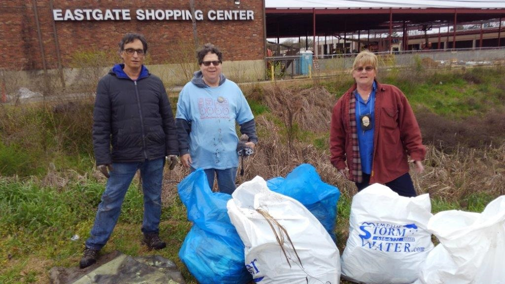 Nonconnah Creek Conservancy Clean-up 3/25/18