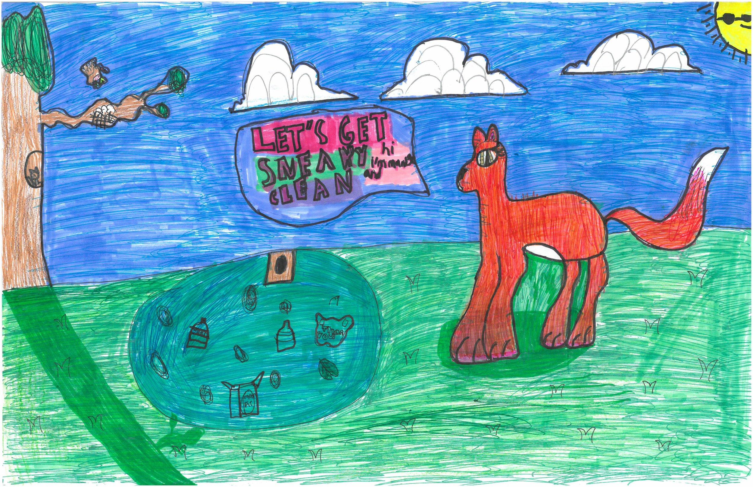 WINNER- Mia Stallings, 3rd grader at Shady Grove Elem.
