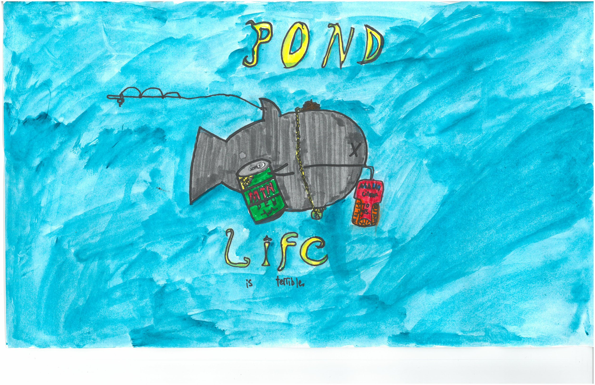 Honorable Mention! Vincent Yow, 5th grader at Peabody Elem.
