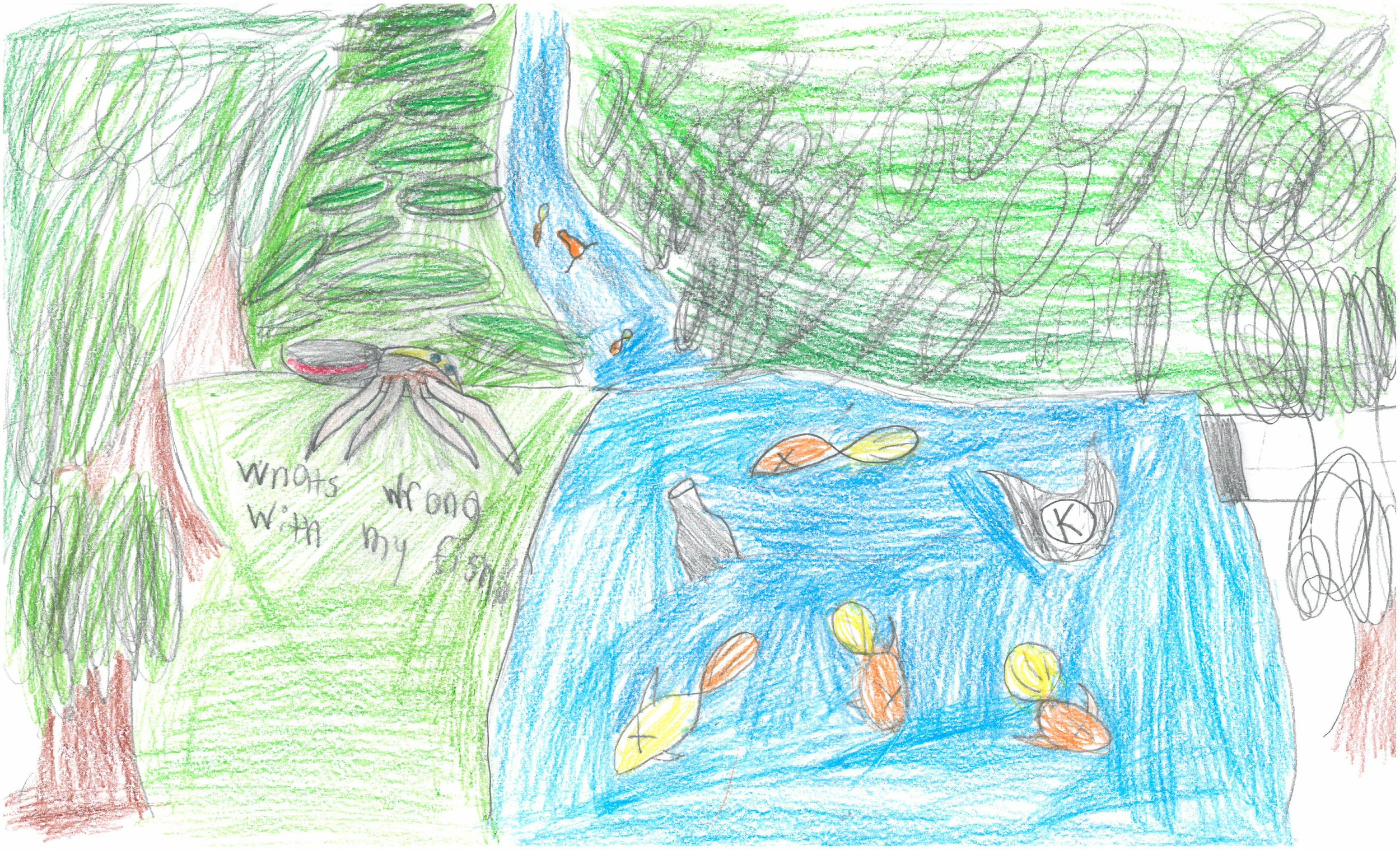 Honorable Mention! Yonatan Flores-Velez, 4th grader at Vollentine Elem.