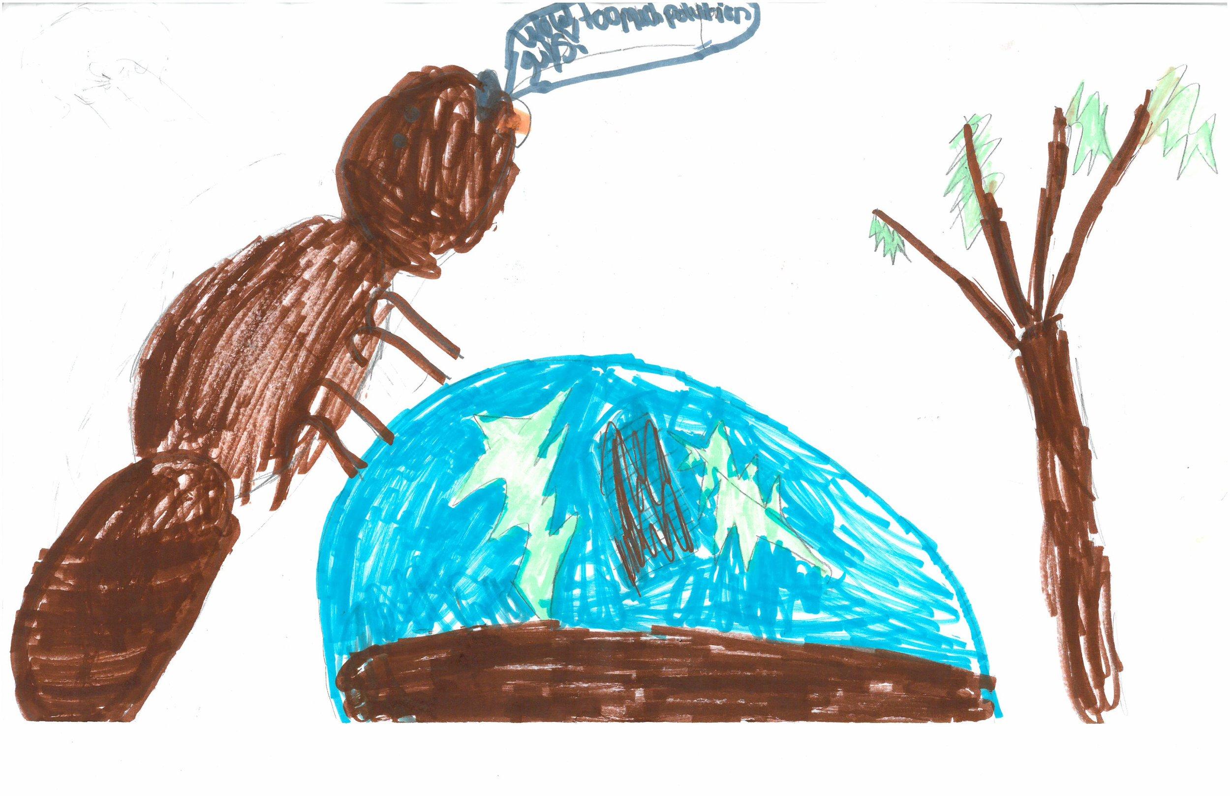 Chloe Davis, 3rd grader at Shady Grove Elem.