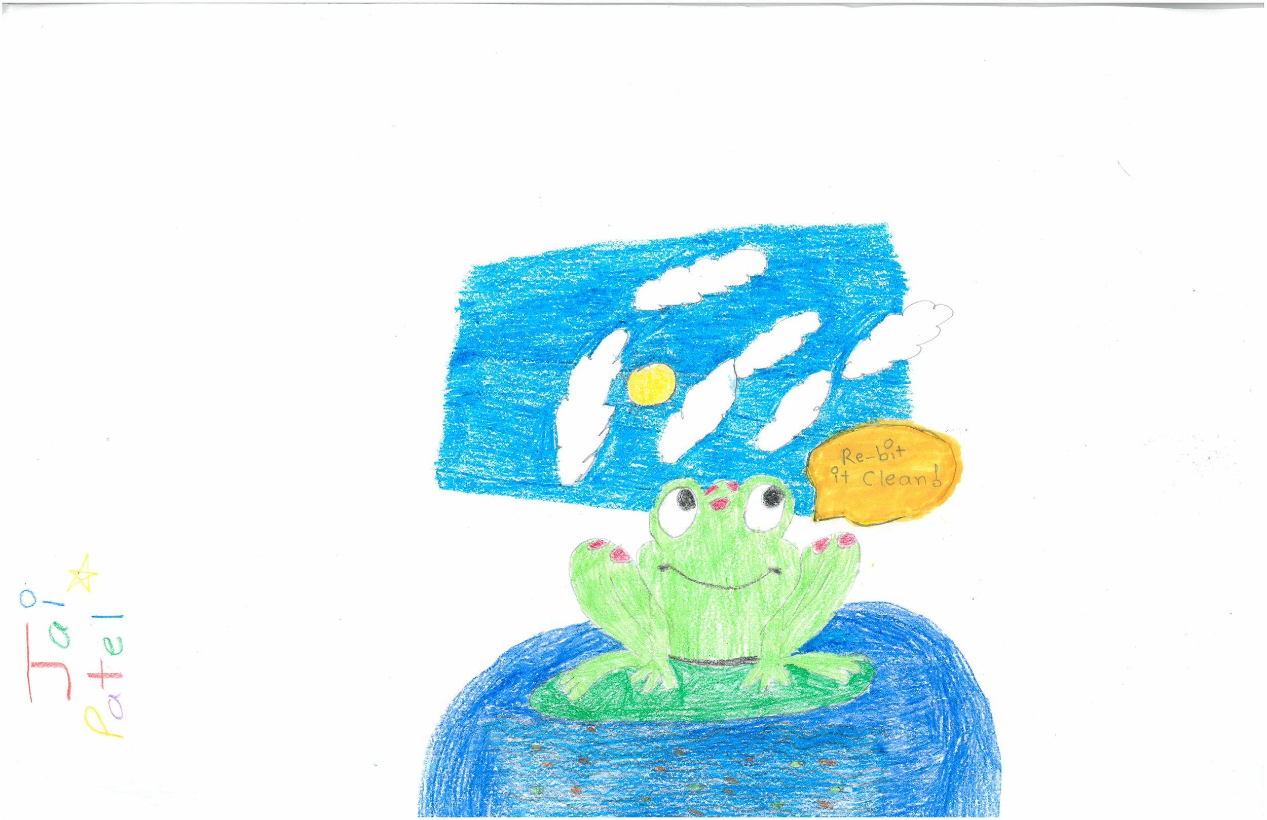Jai Patel, 3rd grader at Shady Grove Elem.