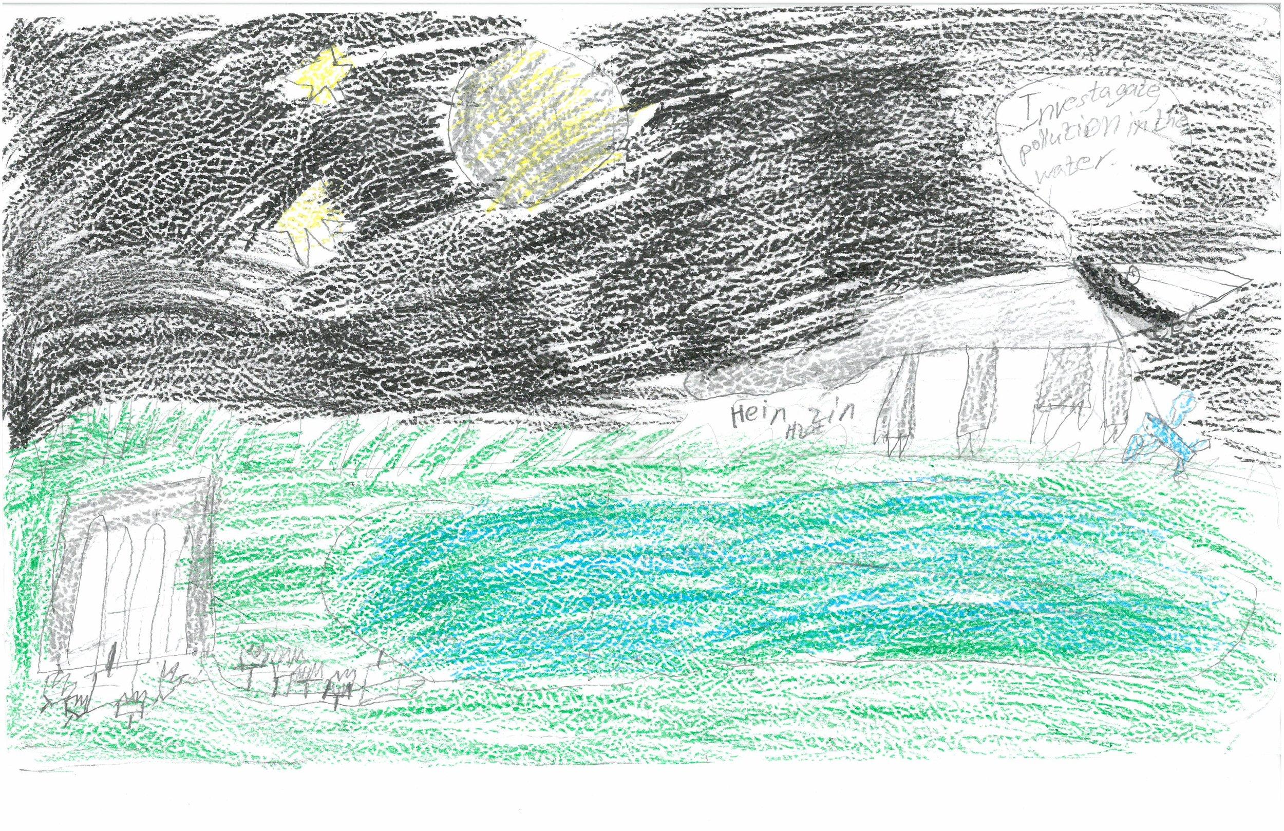 Hein Zin, 3rd grader at Shady Grove Elem.