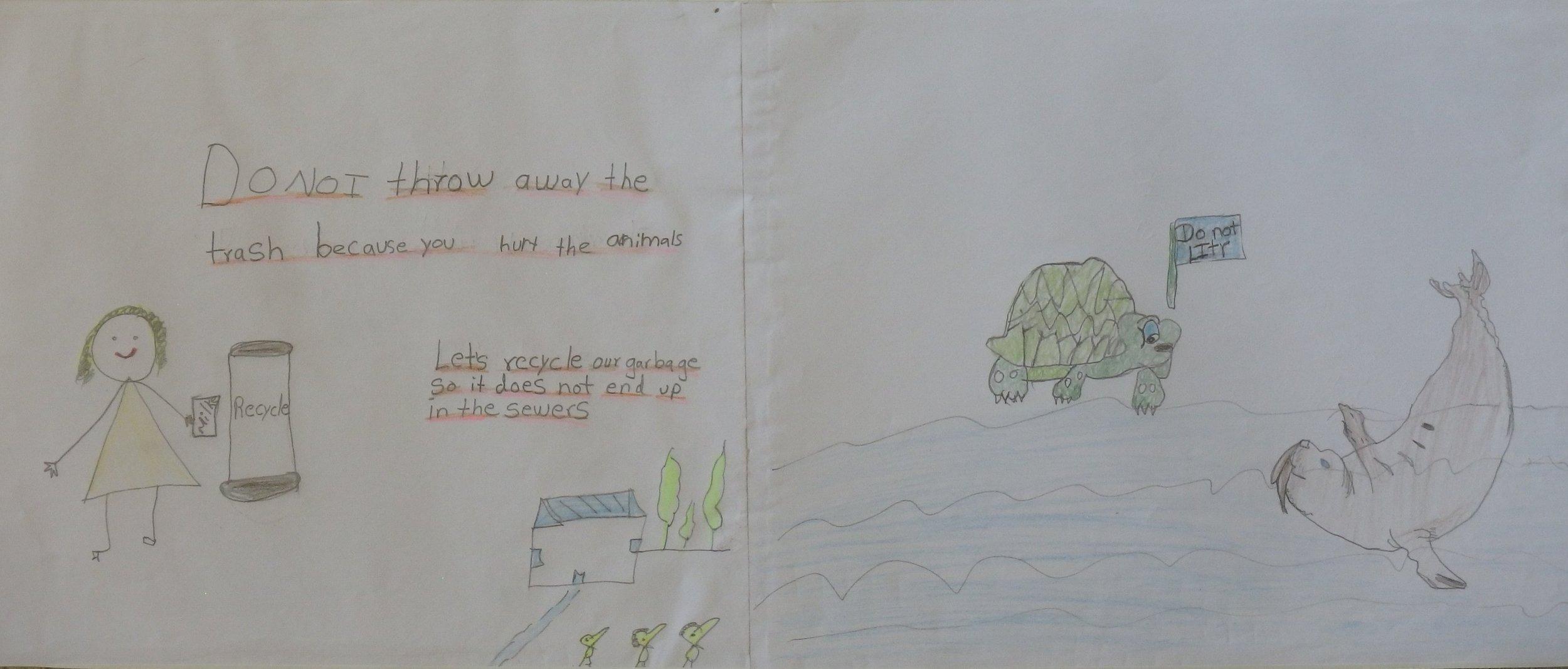 Jaylen Garcia, 3rd grader at Shady Grove Elem.