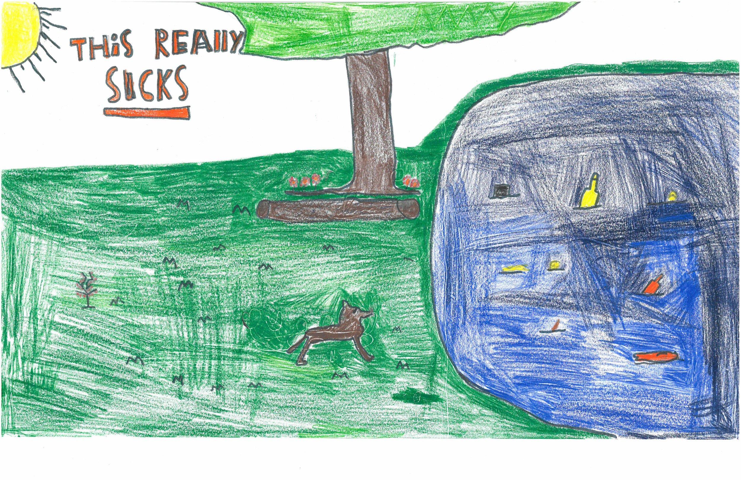 Siarra Ryan, 4th grader at Sharpe Elem.