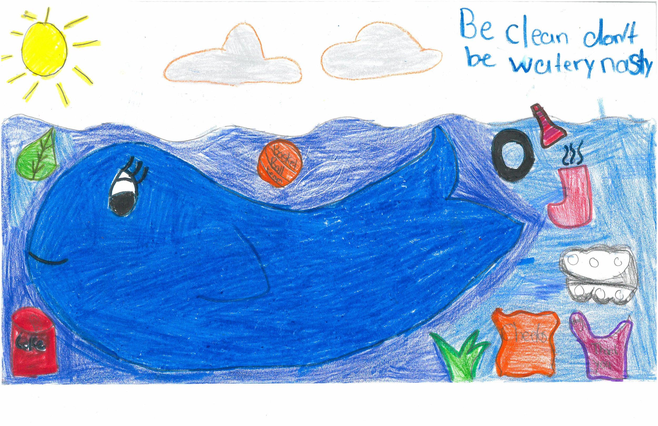 Adriana Martin, 5th grader at Sharpe Elem.