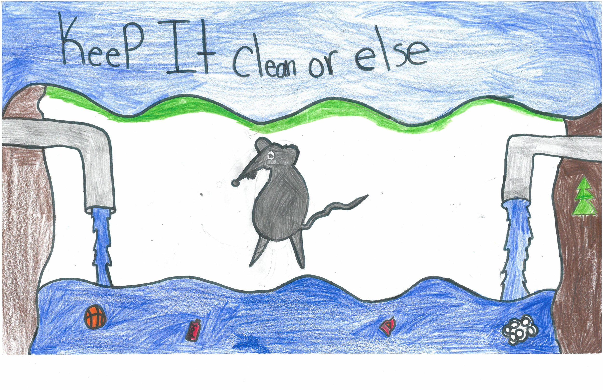 Antonio Humphrey, 5th grader at Sharpe Elem.