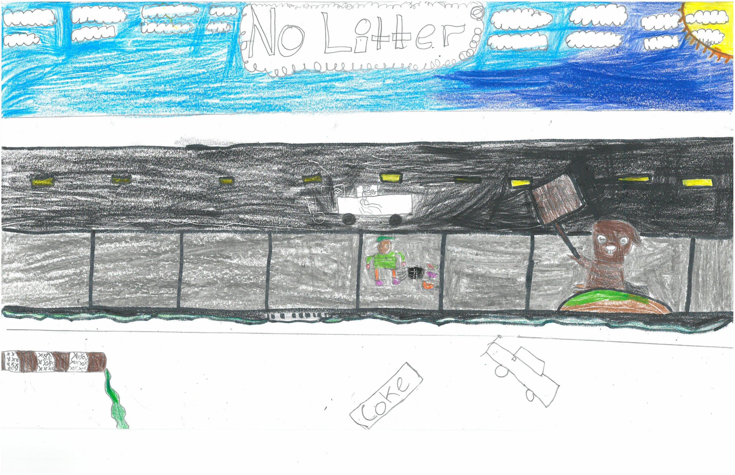 J'lyn Ross, 5th grader at Sharpe Elem.