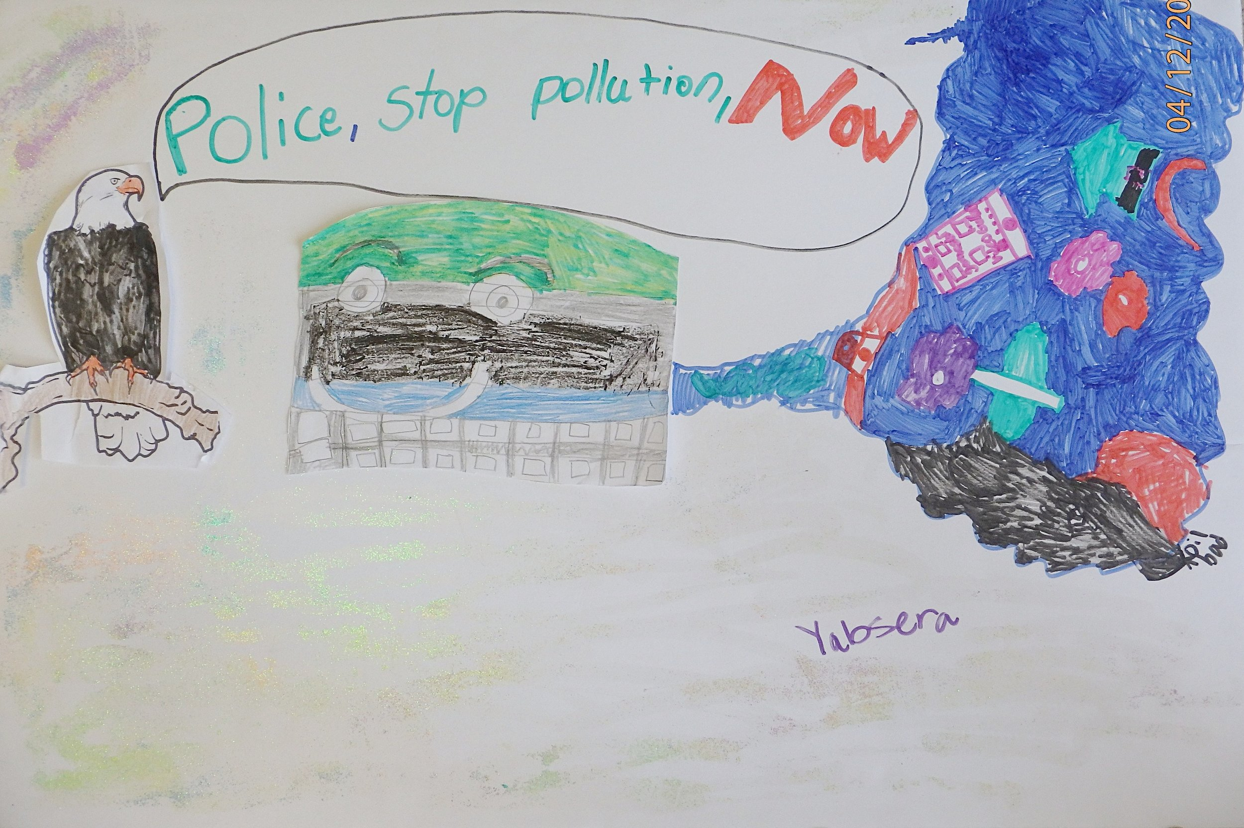 Yabsera Tsega, 3rd grader at Shady Grove Elementary