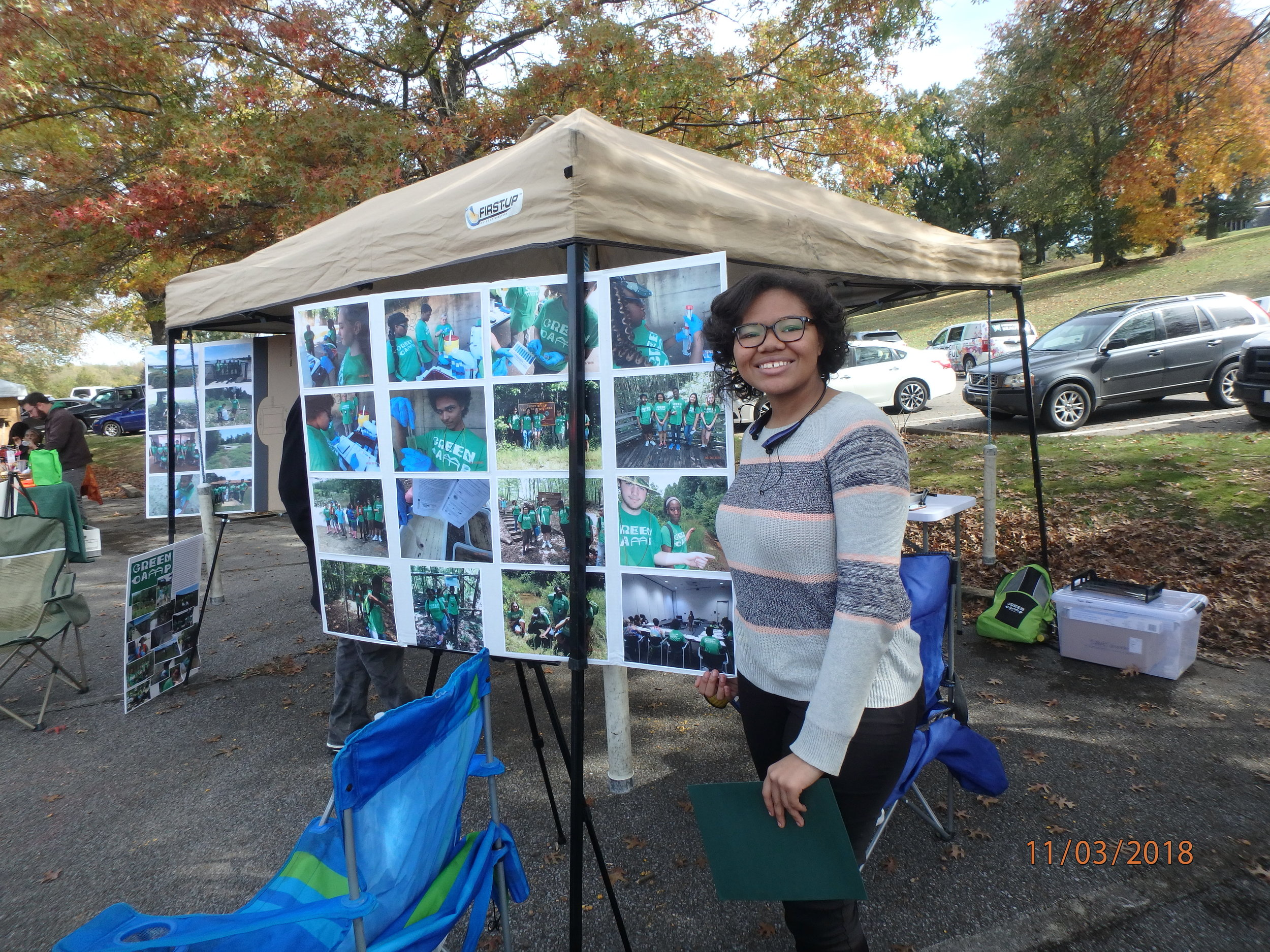 2018 GreenFest- Green Camper Jayla honored