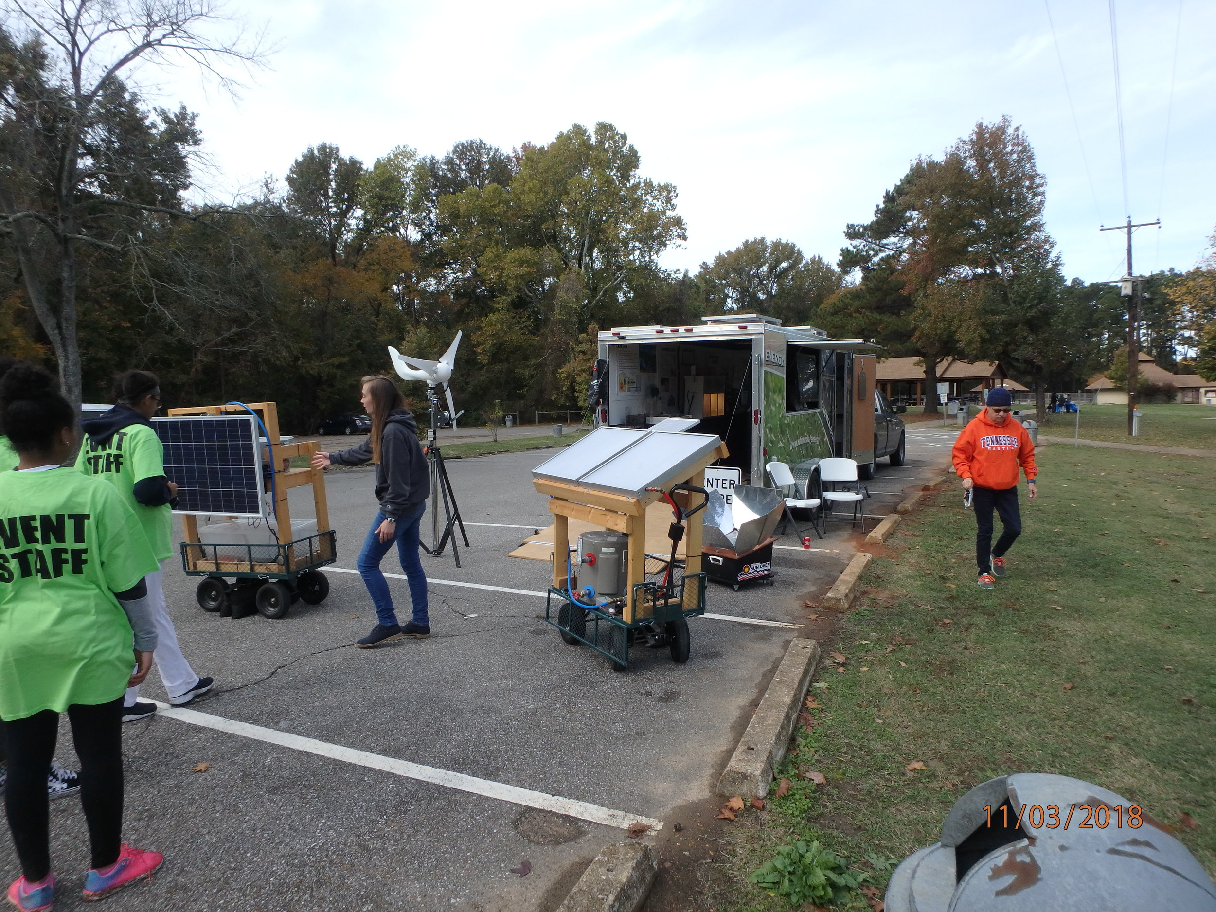 2018 GreenFest- UT Energy Trailer, University of TN